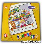 Zestaw puzzle 4 w 1 - Mój Dzień - 4 różne ukladanki z życia codziennego