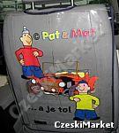 Ochrona siedzeń w samochodzie Sąsiedzi Pat i Mat
