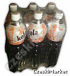 6 x Kofola Original w butelce sportowej outdoor 1 litr , zgrzewka 6 sztuk w opakowaniu producenta