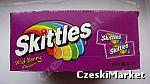 Skittles fioletowe - dzika porzeczka - cała paczka 14 szt.