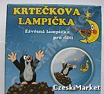 Lampka nocna Krecik - do zawieszenia i do położenia - na prezent, na Mikołaj, Święta