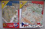 Puzzle 2 w 1 - Mapa Czech - 80 oraz 160 elem