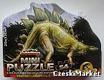 Puzzle mini Dinozaury - aż 54 elementy jak Jurassic Park