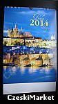 Zdjęcia Pragi (można oprawić) kalendarz ścienny 2014 - PRAGA - Czechy - piękne zdjęcia