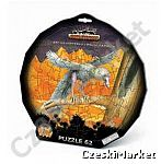 Puzzle w ramce okrągłej  - Dinozaury - 62 elem. jak Jurassic Park