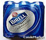 BIRELL z Czech 6 x 500 ml Piwo Bezalkoholowe zgrzewka sześciopak zawierający 6 puszek