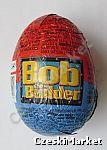 Jajko Jajka niespodzianka z zabawką - czekoladowe - Bob Budowniczy