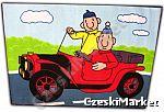 Dywan - Sąsiedzi - Pat i Mat - 95 cm / 133 cm - w samochodzie - na prezent, na Mikołaja, Święta