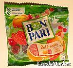 Bon Pari - pyszne owocowe żelki, galaretka - 90 g - bez żelatyny