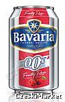Piwo BEZalkoholowe 0 % Fruity Rosé Wiśnia Malina Bavaria w puszce 330 ml