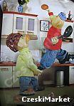 Plakat - Sąsiedzi Pat i Mat - kucharz, gotowanie