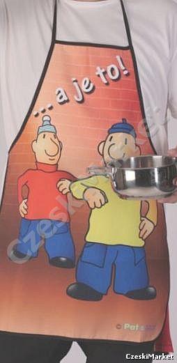 Fartuch kuchenny Pat i Mat
