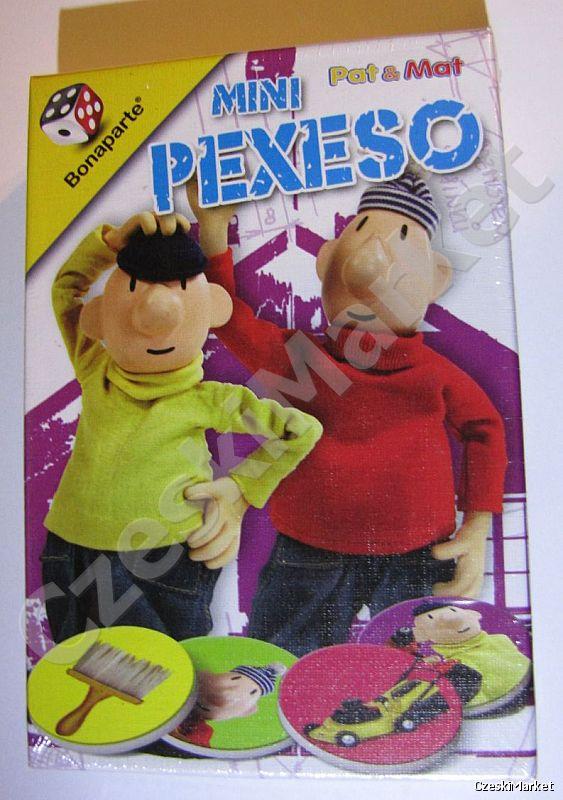 Gra pamięciowa memo pexeso pekseso gra w pudełku - Pat i Mat - Sąsiedzi