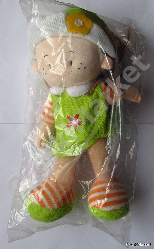 Lalka przytulanka, maskotka - śliczna
