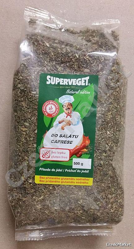 Superveget, przyprawa typu wegeta / kucharek z Czech Vegetable Mix 500 g - bez glutenu i bez glutaminianu sodu!