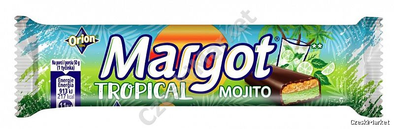 Baton Margot Tropical Mojito Mohito - firma Orion 50 g