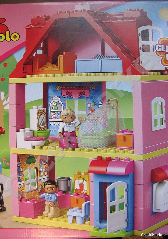 LEGO DUPLO 10505 DOMEK dwupiętrowy, super willa - Czeski ...