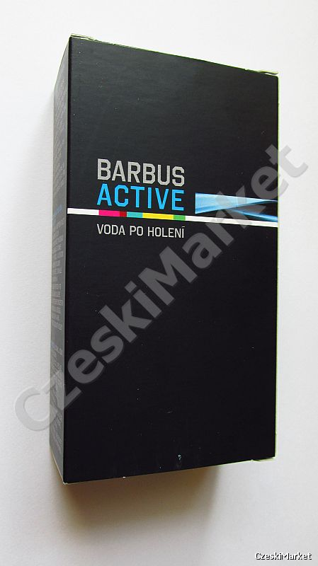 Barbus Active - woda po goleniu 100 ml